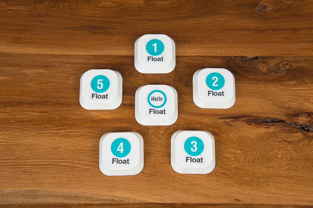 Float iBeacons